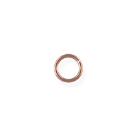 Open Jump Ring 4.5mm Rose Gold Filled (2-Pcs)