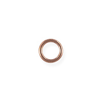 Closed Jump Ring 5mm Rose Gold Filled (2-Pcs)