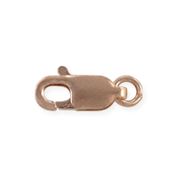 Lobster Claw Clasp 10x4mm Rose Gold Filled (1-Pc)