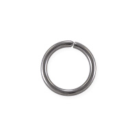Open Jump Ring 8mm Surgical Stainless Steel (50-Pcs)