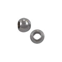 Round Beads 3mm Surgical Stainless Steel (10-Pcs)