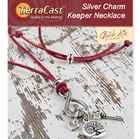 TierraCast Silver Charm Keeper Necklace