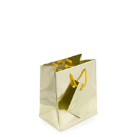 Metallic Gold 3x3 Tote Gift Bag (20-Pcs)