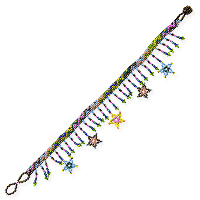 Stars Beaded Anklet 9