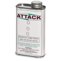 Attack Solvent Solution - Glue Remover