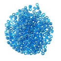 Seed Bead Opaque Luster 6/0 Blue (Ounce)