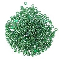 Seed Bead Opaque Luster 6/0 Green (Ounce)