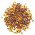Seed Bead Silver Lined 6/0 Brown (Ounce)