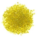 Seed Bead Silver Lined 6/0 Yellow (Ounce)