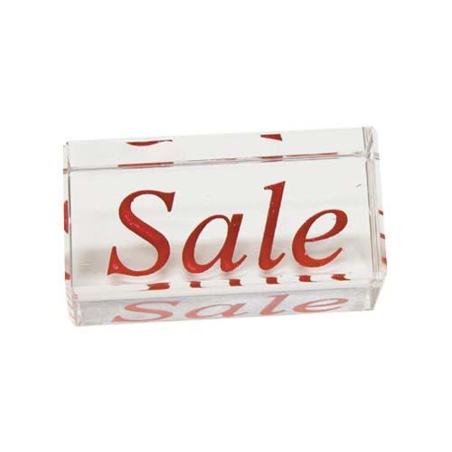 Crystal Showcase Sign Sale