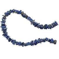 10 Strands of Lapis Tumbled Chips 5-8mm (16