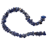 10 Strands of Lapis Tumbled Chips 8-12mm (16