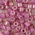 Miyuki Delica Seed Bead 11/0 Gold Luster Purple Opaque (3 Gram Tube)