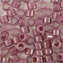 Miyuki Delica Seed Bead 11/0 Lilac Glazed Luster Opaque (3 Gram Tube)