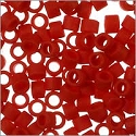 Miyuki Delica Seed Bead 11/0 Matte Red Opaque (3 Gram Tube)