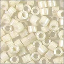 Miyuki Delica Seed Bead 11/0 Pearl Alabaster White Glazed Luster Opaque (3 Gram Tube)