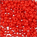 Miyuki Round Rocaille Seed Bead 11/0 Opaque Red (3 Gram Tube)