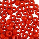 Miyuki Round Rocaille Seed Bead 8/0 Opaque Red (3 Gram Tube)