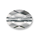 Swarovski Mini Oval 5051 Crystal Bead 8x6mm Crystal (1-Pc)