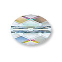 Swarovski Mini Oval 5051 Crystal Bead 8x6mm Crystal AB (1-Pc)