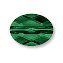 Swarovski Mini Oval 5051 Crystal Bead 8x6mm Fern Green (1-Pc)