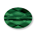 Swarovski Mini Oval 5051 Crystal Bead 10x8mm Fern Green (1-Pc)