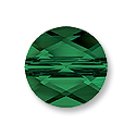 Swarovski Mini Round 5052 Crystal Bead 6mm Fern Green (1-Pc)