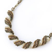 Miyuki Dutch Spiral Southern Wind Seed Bead Necklace Kit