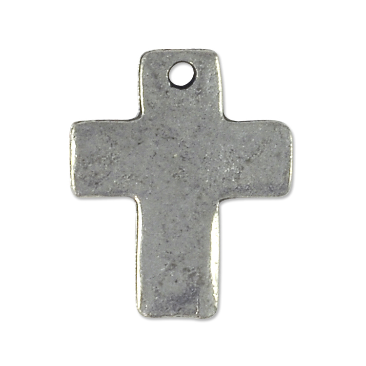 Cross pendant 18x15mm pewter antique silver plated pendants for cross pendant 18x15mm pewter antique silver plated aloadofball Choice Image