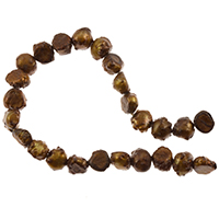 Freshwater Potato Pearl Bumpy Nuggets Rustic Bronze 7-8mm (16