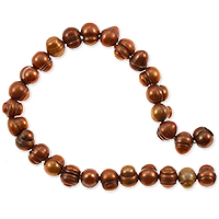 Freshwater Potato Pearls Copper 6-7mm (16