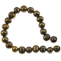 Freshwater Potato Pearl Dark Bronze Mix 7-8mm (16