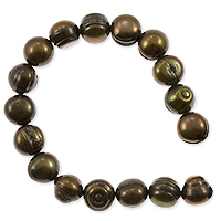 Freshwater Potato Pearls Dark Bronze 8-9mm (16