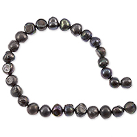 Freshwater Potato Pearl Dark Grey 5-6mm (16