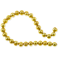 Freshwater Potato Pearls Gold 5-6mm (16