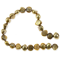 Freshwater Potato Pearl Gold Nugget 7-8mm (16