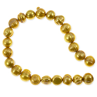 Freshwater Potato Pearl Gold 8-9mm (16