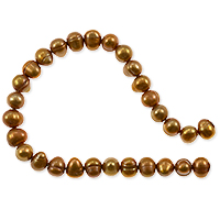 Freshwater Potato Pearl Light Copper 5-6mm (16