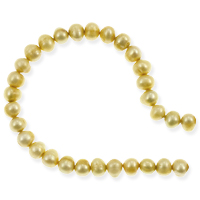 Freshwater Potato Pearl Pastel Gold 5-6mm (16