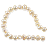 Freshwater Potato Pearls Peach Creme 6.5-7mm (16