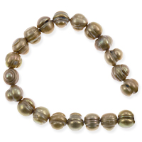 Freshwater Potato Pearl Irregular Pewter 7-8mm (16