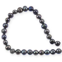 Freshwater Potato Pearls Silver Grey Mix 5-6mm (16