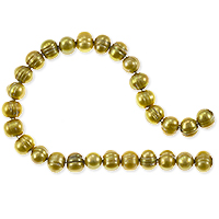 Freshwater Potato Pearl Verde Gold 5-6mm (16