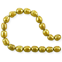 Freshwater Rice Pearl Gold 7-8mm (16
