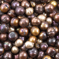 Freshwater Brown Pearl Mix (1/4 Pound)