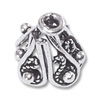Bead Cap Bali Style 11mm Sterling Silver (1-Pc)