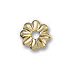 Gold Filled Bead Cap 4.5mm (1-Pc)