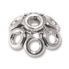 Bead Cap - Bali Style 8mm Sterling Silver (1-Pc)