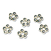 Spacer Bead Rings 5.2mm Sterling Silver (4-Pcs)