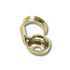 Bead Tip 3mm Gold Plated (20-Pcs)